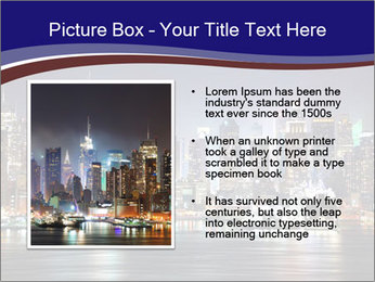 New York City Manhattan skyline panorama PowerPoint Templates - Slide 13