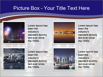 New York City Manhattan skyline panorama PowerPoint Template - Slide 14