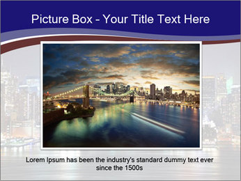 New York City Manhattan skyline panorama PowerPoint Templates - Slide 16