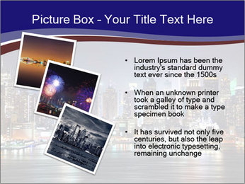 New York City Manhattan skyline panorama PowerPoint Template - Slide 17