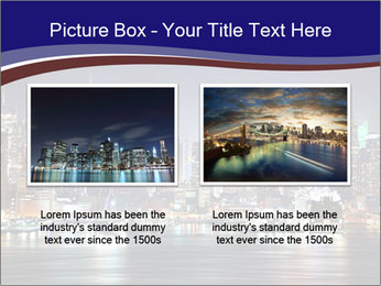 New York City Manhattan skyline panorama PowerPoint Template - Slide 18