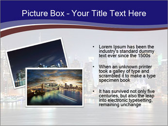 New York City Manhattan skyline panorama PowerPoint Template - Slide 20