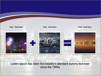 New York City Manhattan skyline panorama PowerPoint Template - Slide 22