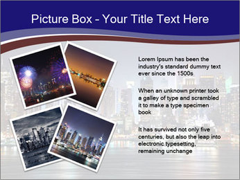 New York City Manhattan skyline panorama PowerPoint Templates - Slide 23