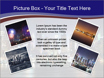 New York City Manhattan skyline panorama PowerPoint Template - Slide 24