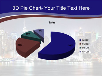 New York City Manhattan skyline panorama PowerPoint Template - Slide 35