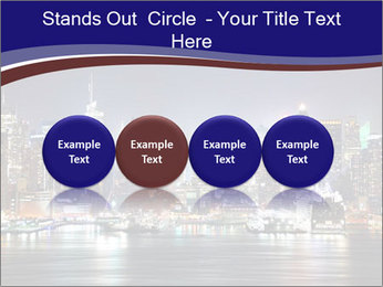 New York City Manhattan skyline panorama PowerPoint Templates - Slide 76