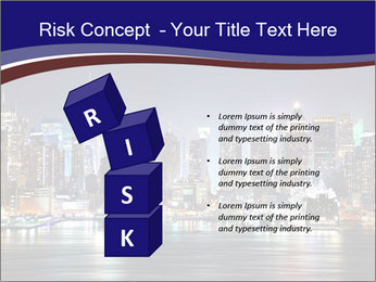 New York City Manhattan skyline panorama PowerPoint Template - Slide 81