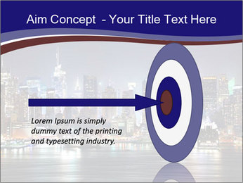 New York City Manhattan skyline panorama PowerPoint Template - Slide 83
