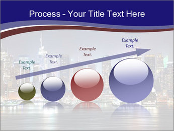 New York City Manhattan skyline panorama PowerPoint Template - Slide 87