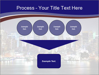 New York City Manhattan skyline panorama PowerPoint Templates - Slide 93