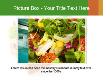 Wooden crate with a diversity of fresh vegetables PowerPoint Template - Slide 15