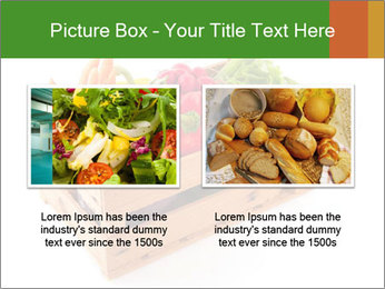 Wooden crate with a diversity of fresh vegetables PowerPoint Template - Slide 18