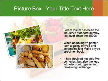 Wooden crate with a diversity of fresh vegetables PowerPoint Template - Slide 20