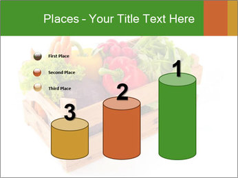Wooden crate with a diversity of fresh vegetables PowerPoint Template - Slide 65