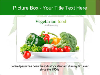 Chili pepper plant PowerPoint Templates - Slide 16