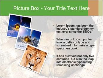 Furry Fox PowerPoint Template - Slide 17