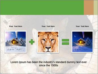 Furry Fox PowerPoint Template - Slide 22