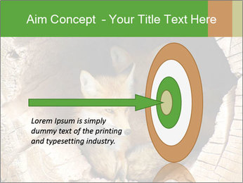 Furry Fox PowerPoint Template - Slide 83