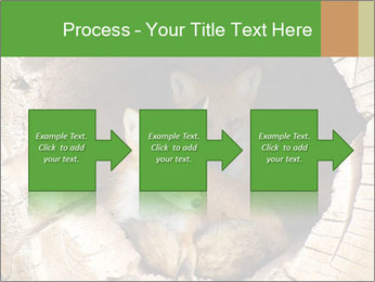 Furry Fox PowerPoint Template - Slide 88