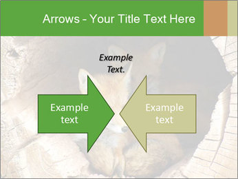 Furry Fox PowerPoint Template - Slide 90