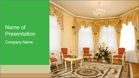 Wealthy Interior Design PowerPoint Template