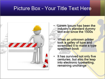 Construction Sign PowerPoint Template - Slide 13