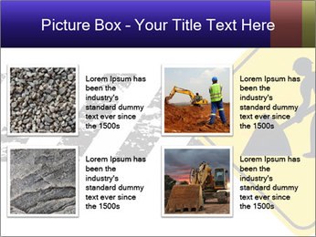 Construction Sign PowerPoint Template - Slide 14