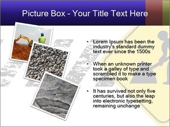 Construction Sign PowerPoint Templates - Slide 17