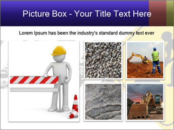 Construction Sign PowerPoint Template - Slide 19