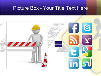 Construction Sign PowerPoint Template - Slide 21