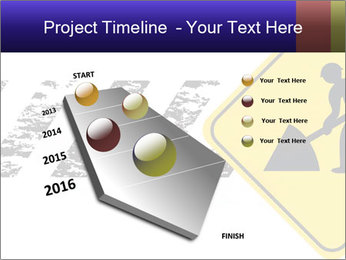Construction Sign PowerPoint Template - Slide 26