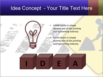 Construction Sign PowerPoint Template - Slide 80