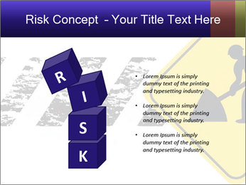 Construction Sign PowerPoint Template - Slide 81