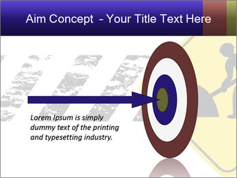 Construction Sign PowerPoint Template - Slide 83