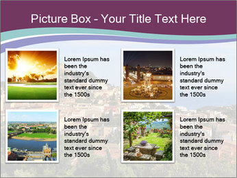 Hill In Spanish Cityscape PowerPoint Template - Slide 14