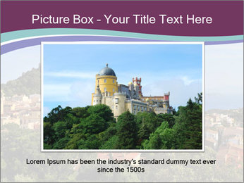 Hill In Spanish Cityscape PowerPoint Template - Slide 15