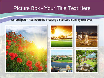 Hill In Spanish Cityscape PowerPoint Template - Slide 19