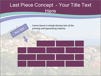 Hill In Spanish Cityscape PowerPoint Template - Slide 46