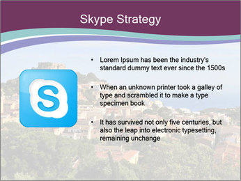 Hill In Spanish Cityscape PowerPoint Template - Slide 8