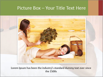 Man At Spa Salon PowerPoint Template - Slide 15