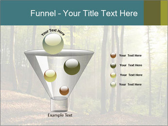 Backlight In Forest PowerPoint Template - Slide 63