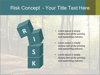 Backlight In Forest PowerPoint Template - Slide 81