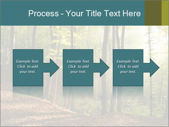 Backlight In Forest PowerPoint Template - Slide 88