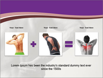 Athlete With Backache PowerPoint Template - Slide 22