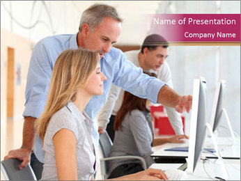 Business Training Activity PowerPoint Template