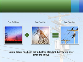 Electricity Distribution PowerPoint Template - Slide 22