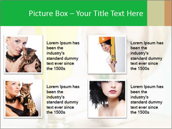 Woman And Orange Juice PowerPoint Template - Slide 14