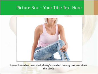 Woman And Orange Juice PowerPoint Template - Slide 15