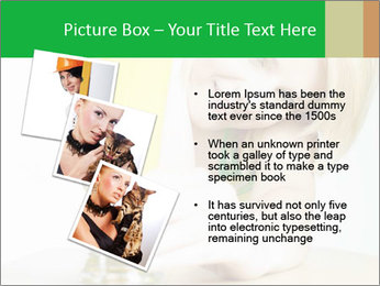 Woman And Orange Juice PowerPoint Template - Slide 17